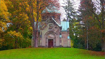 Herbst in Ohlsdorf von Peter Norden