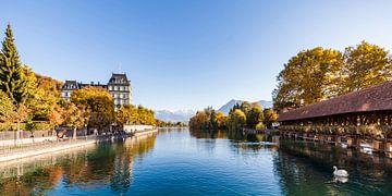 Thun im Berner Oberland in der Schweiz von Werner Dieterich
