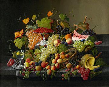 Fruit abondant, Severin Roesen