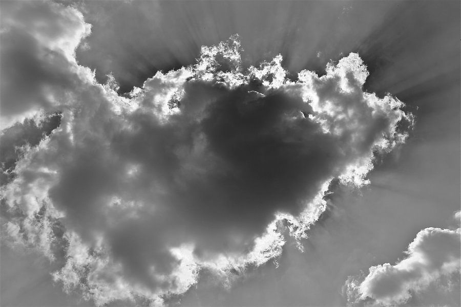 Regen En Zonneschijn : Na regen komt zonneschijn van rick van den bovenkamp op canvas