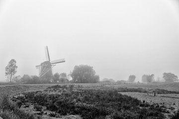 Gein Noord in de mist sur Don Fonzarelli