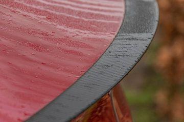 Rode Tesla Model 3 Performance details van Joost Winkens