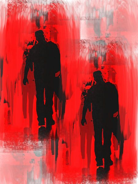 Dark men van Gabi Hampe