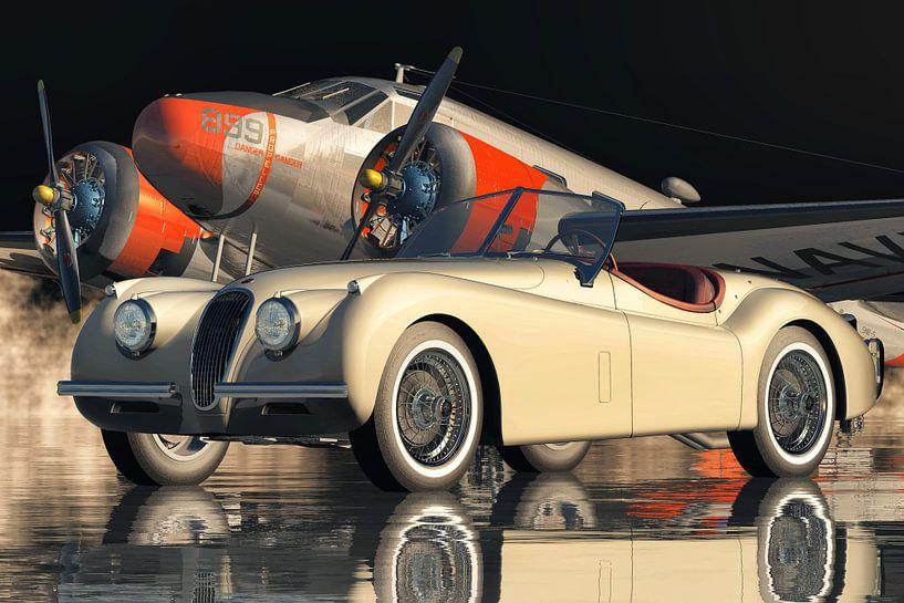 Die Besonderheit des Jaguar XK 120 von Jan Keteleer