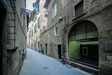 Streets of Lucca van The Pixel Corner