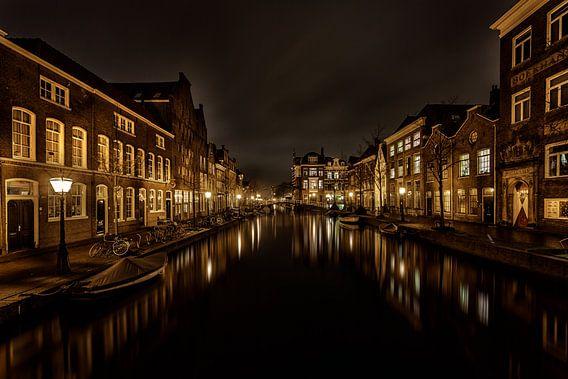 Oude Rijn Leiden van Michael van der Burg