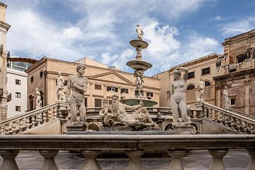 Fontaine Pretoria à Palerme sur Eric van Nieuwland