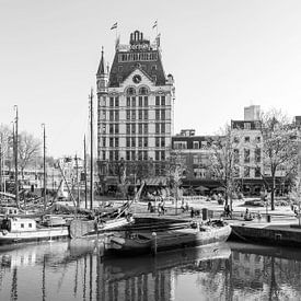 Het Witte Huis in de Oude Haven in Rotterdam van MS Fotografie