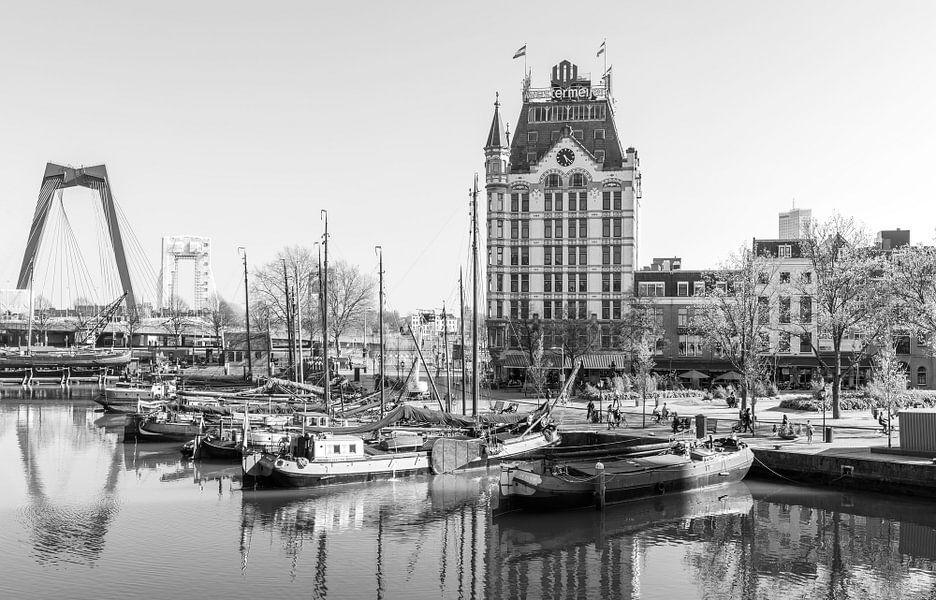 Het Witte Huis in de Oude Haven in Rotterdam