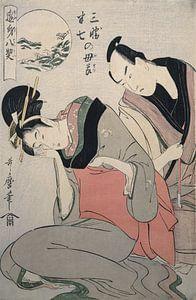Sankatsu Hanshichi no bosetsu = [The maternal love of Sankatsu and Hanshichi], Kitagawa, Utamaro (17