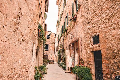 Straatje in Pienza