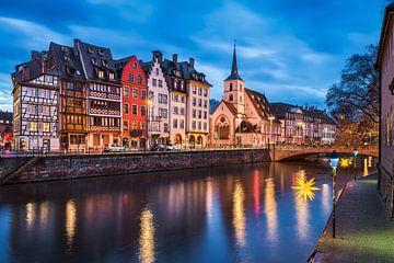 Strasbourg de nuit sur Michael Abid