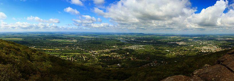 Panoramic view of the Montreal area from Mt. Saint-Hilaire van Luis Fernando Valdés Villarreal Boullosa