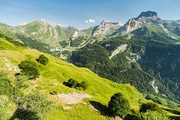 Bergtoppen in de Pyreneeën van Kris Christiaens