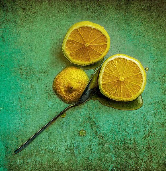 Citroen en honing van Marcel van Berkel