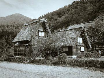 traditioneel japans huisje van Jasper H