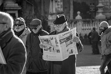 La Sicilia, de krant van Renske Spijkers