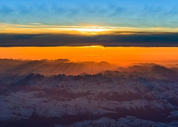 Zonnestralen van Denis Feiner