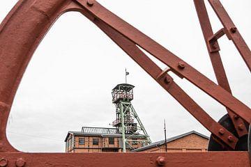 szyb Maciej schloss das Bergwerk in Polen von Eric van Nieuwland