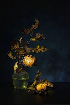 Sentiment d'automne sur Saskia Dingemans