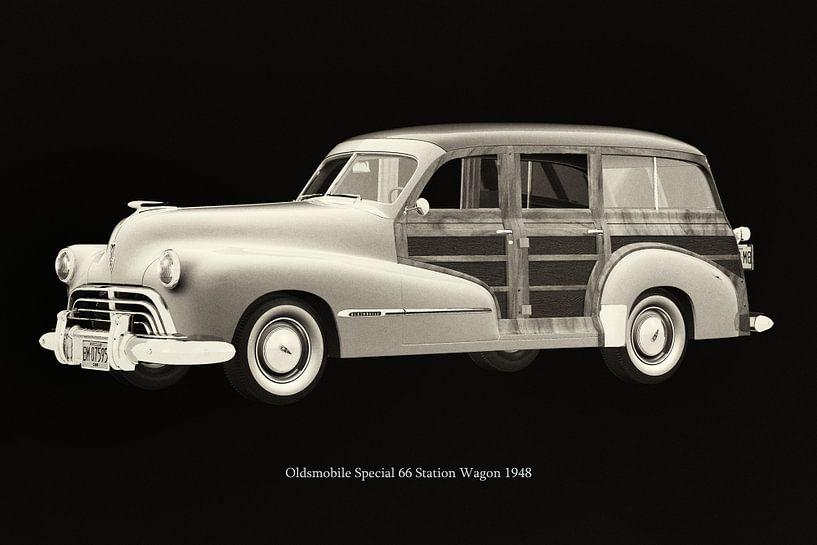 Oldsmobile Special 66 Station Wagon 1948 van Jan Keteleer
