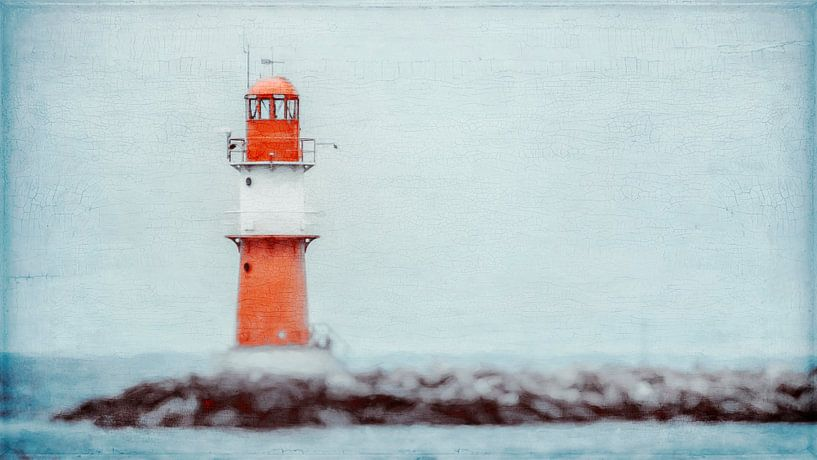 Leuchtturm von Warnemünde von Heiko Westphalen