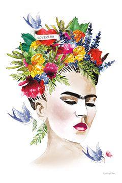 Ze is frida, Mercedes Lopez Charro van Wild Apple