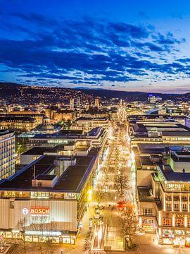 Centre ville avec Königstraße à Stuttgart