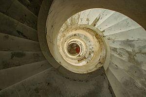 Treppe zur Finsternis 2 von AH-Fotografie