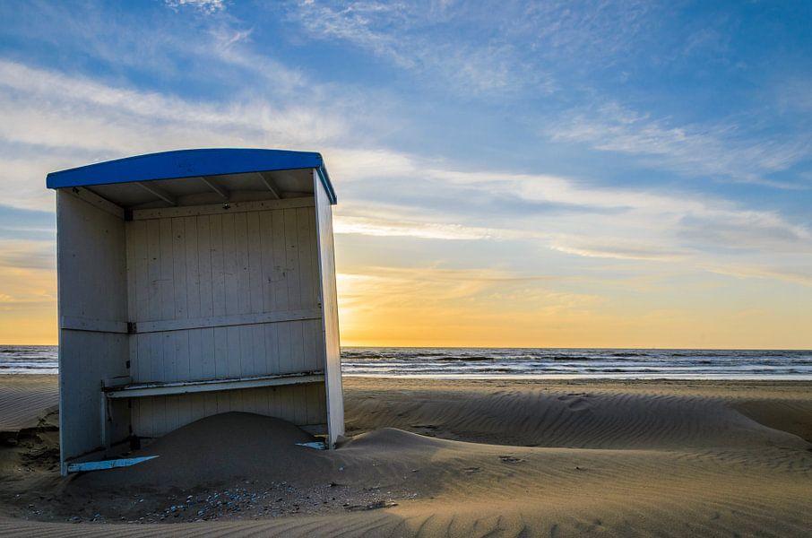 Beach Cabin van Richard Guijt