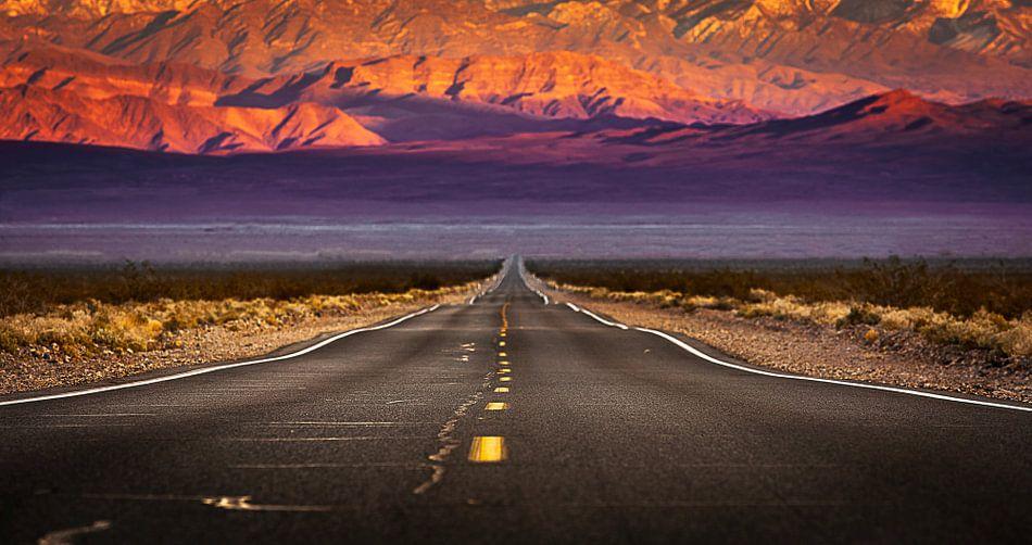 Never ending road
