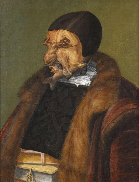 Giuseppe Arcimboldo, De Jurist van Meesterlijcke Meesters