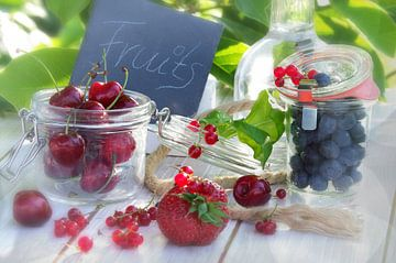 Frische Früchte des Sommers van Tanja Riedel