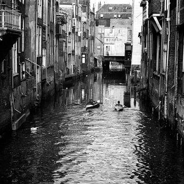 Dordrecht Voorstraathaven (Kano's) von Dordrecht van Vroeger
