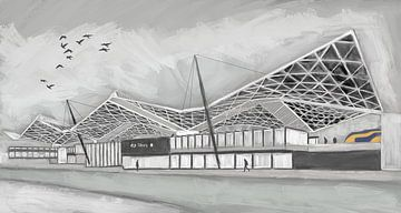Station Tilburg van Stan Kruijssen