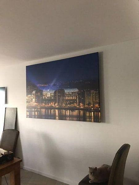 """Kundenfoto: Feyenoord Stadium """"De Kuip"""" in Rotterdam während der Konzertreihe von Marco Borsato von MS Fotografie   Marc van der Stelt"""