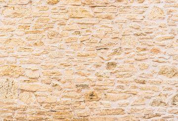Natürliche alte Steinmauer Hintergrund Textur von Alex Winter