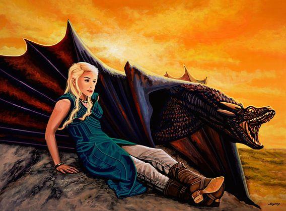 The Game of Thrones Schilderij van Paul Meijering