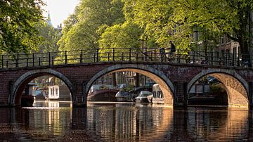 Brücke über die Prinsengracht von Tom Elst