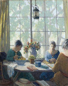 George J. Stengel (1866-1937)-Im Atelier