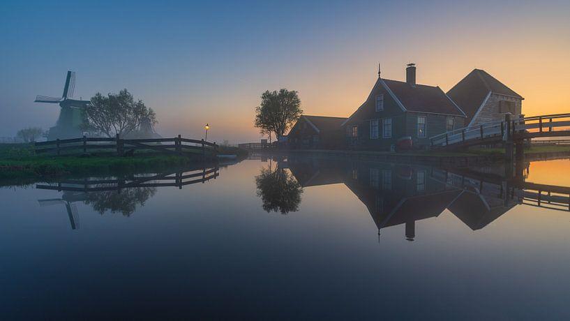 Reflections Zaanse Schans van Arnoud van de Weerd