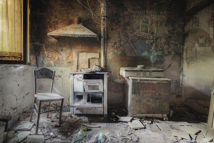 Kunstzinnige Keuken van Perry Wiertz