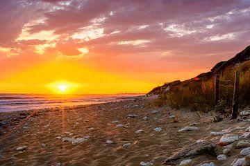 Ile d'Oleron, Sonnenuntergang am Strand von 7Horses Photography