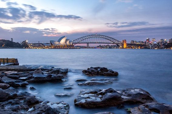 Sydney in de avond