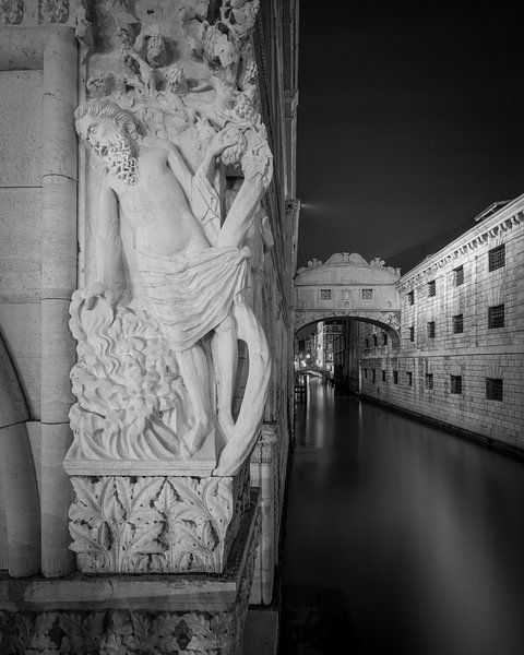 Venetië - Brug der Zuchten II van Teun Ruijters