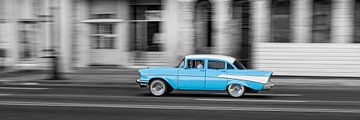 Taxi à La Havane sur Cor Ritmeester