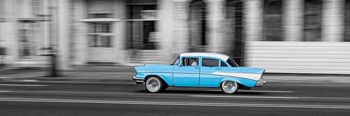 Taxi in Havana van