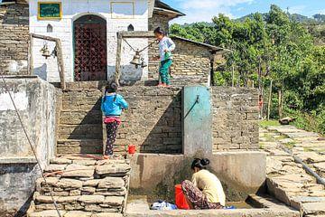 Nepal dorpje von Ilse De Pourcq