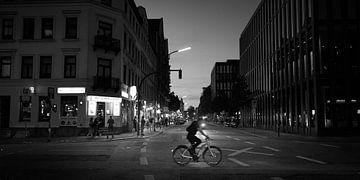 Kreuzung im Stadtteil St. Pauli, Hamburg von Jenco van Zalk