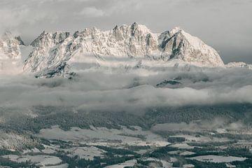 Berglandschap in de Oostenrijkse Alpen van Sophia Eerden